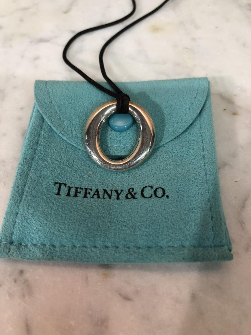 "Tiffany & Co. Necklace ""Elsa Peretti"" Sevillana Pendant - 3"