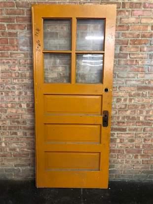 3 Panel 4 Pane Entry Door