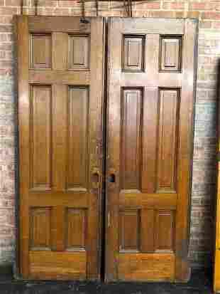 Victorian Architectural Pocket Doors- 6 Panel