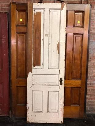 Single Victorian Pocket Door- 5 Panel