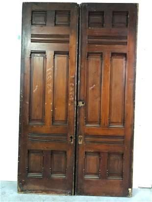 Victorian Pocket Doors- 6 Panel