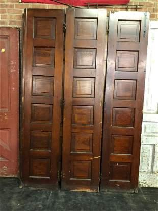 Set of 3 Tri-fold Doors