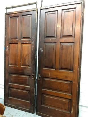 Victorian Pocket Doors