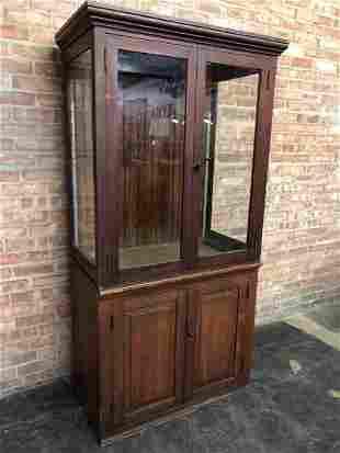 Vintage General Store Cabinet (2 pieces)
