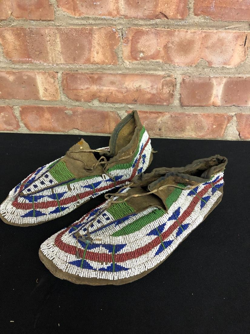 Antique Native American Moccasins