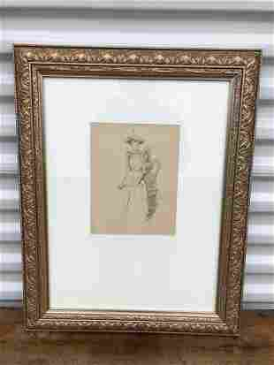 Sketch of a Woman by James  Whistler