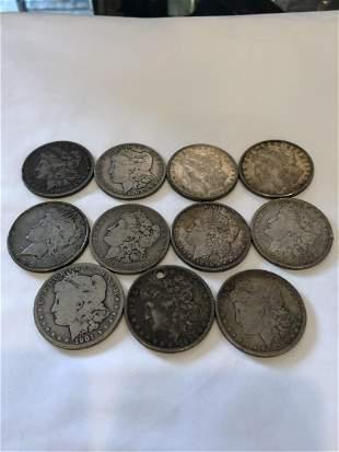 11 Silver Dollars