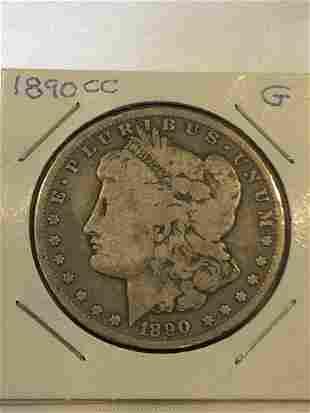 1890 CC Silver Dollar