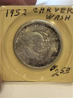 1952 Washingtong Carver Half Dollar