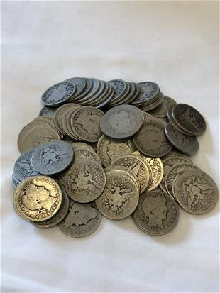 Lot of 90 Silver Quarters