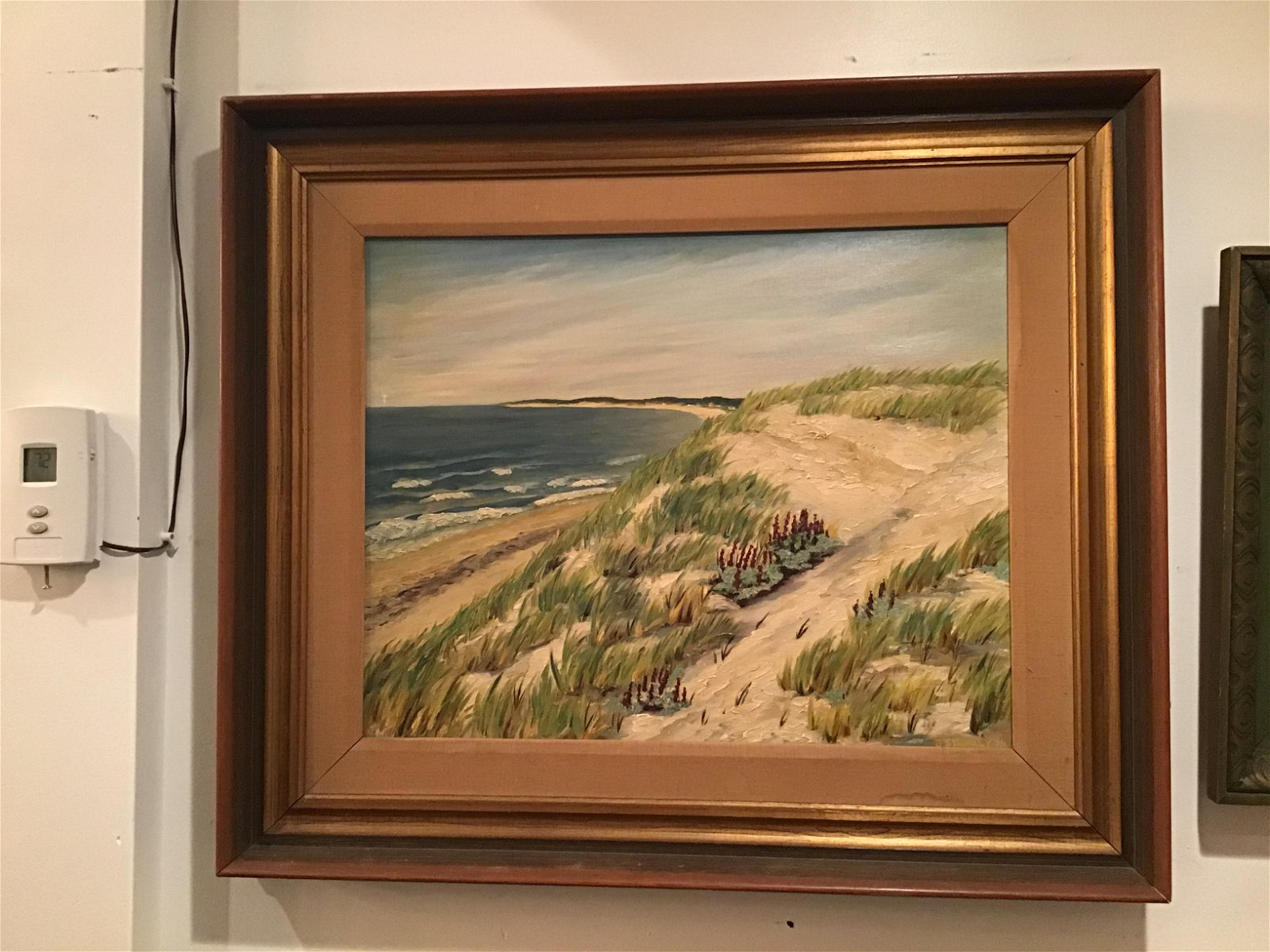 BS Morley Indiana Dunes Artist oil on board