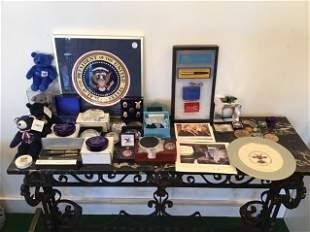 Presidential Memorabilia Lot