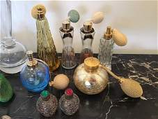 Mid Century Perfume Bottle Lot