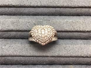 Judith Ripka Sterling  Ring