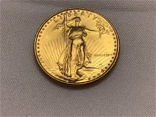 1/4 OUNCE LADY LIBERTY18K $10.00 GOLD COIN