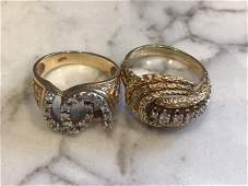 Collection 14k gold Rings