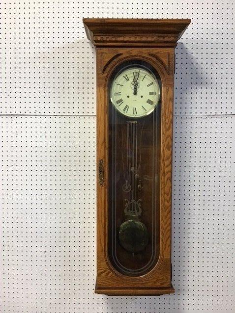 Howard Miller Wooden Clock