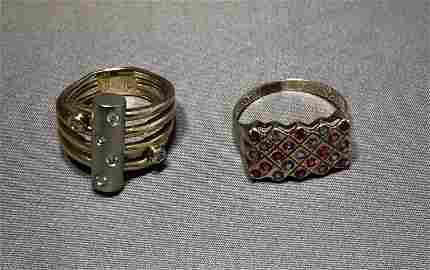 2 14k Gold Rings