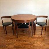 Hans Olsen by Frem Rojle Teak table and 6 chairs