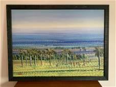 Jean Adrian Seide Oil on Canvas Haitian Farm
