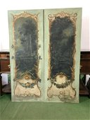 Pair 19th C. French Oil on Canvas Panel