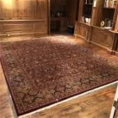 Hand Woven Early 20th C. Oriental Rug