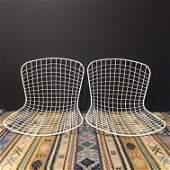 IMO Bertoia Pair Mid Century Chair Shells
