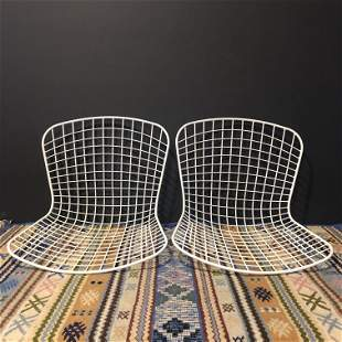 IMO Bertoia Pair Mid Century Chair Shells
