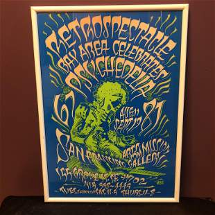 Rock Poster Retrospectacle San Francisco 1967-1987