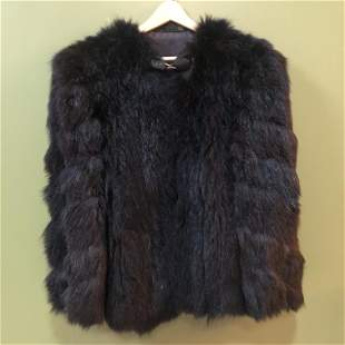 Art Deco Faux Fur Jacket