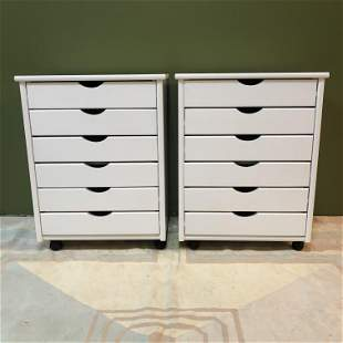 Post Modern Multi-Drawer Nightstands Brazil