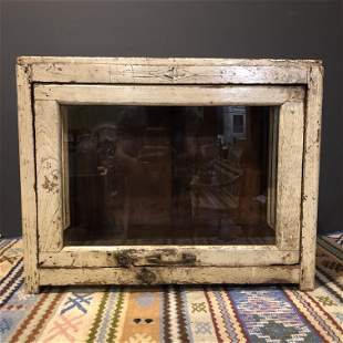 Old Store Display Cabinet