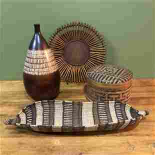Collection Wicker & African Folk Articles