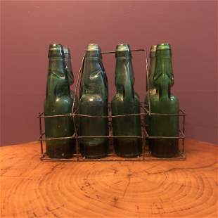 Early Glass Victorian Bottles