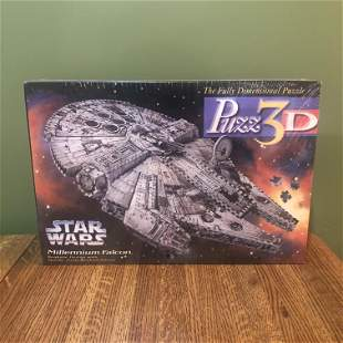 Star Wars Millennium Falcon Puzz 3D Sealed