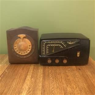 Zenith Radio & Bakelite Radio