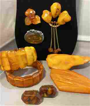 Collection Baltic Amber & Sterling Silver Jewelry