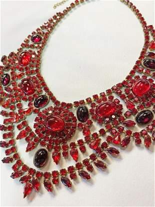 Art Deco Czech Glass Necklace