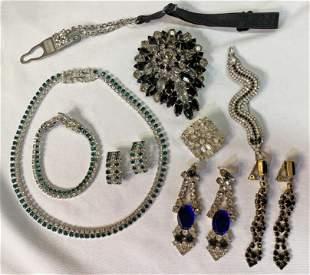 Collection 9 Rhinestone Jewelry Kramer Demi Parure