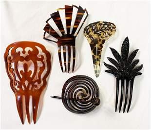 Collection Victorian Hair Combs Gibson Girl