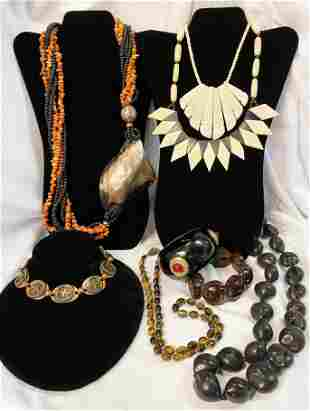 Collection Ethnic Jewelry Lot