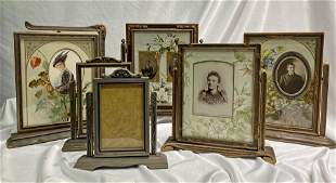 Collection 5 Victorian Swing Frames Floral Matte
