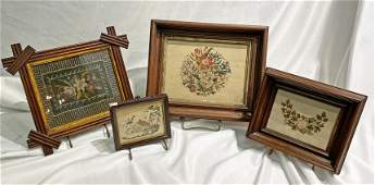 Collection Victorian Paper Punch Samplers
