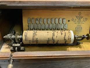 Victorian Concert Roller Organ