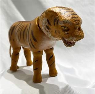 Antique Schoenhutt Tiger Early 1900's
