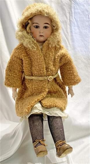 24in EU ST German Bisque Doll Antique
