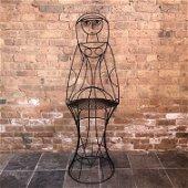 John Risley Figural Bar Stool