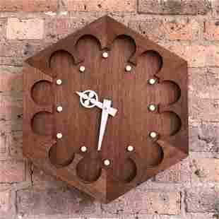 IMO Finn Juhl Danish Modern Clock