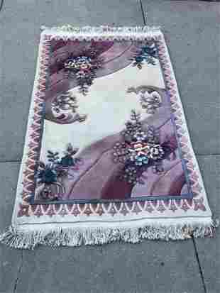 Pink Pst Modern Chinese Oriental Rug