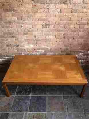 Heggen Mid Century Danish Modern Coffee Table